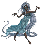 TiH: Siobhan the Banshee by Bilious