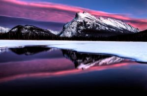 Mount Rundle by pictureguy