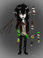 Cameron REF (new OC) by M1SS-NOTH1NG