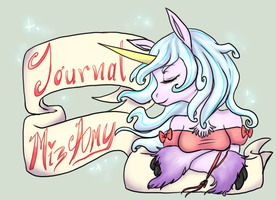 Journal Header by MizAmy