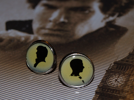 Sherlock and John earrings by Pia-CZ