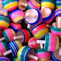 spinning tops II by 1510