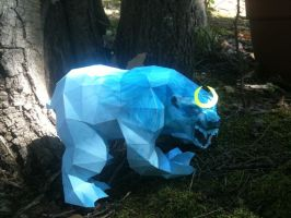 Moonbear Papercraft by Dreamparacite