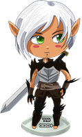 Bottlecap Companion-Fenris by Countess-Noir