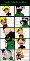 Finally, Kakashi Maskless!! by Zinrea