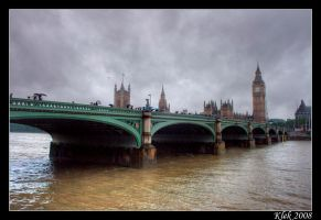 London - Big Ben by Klek