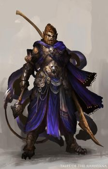 Tales of the Ramayana - Vanara by theDURRRRIAN