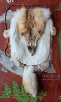 Swift Fox Pouch by lupagreenwolf