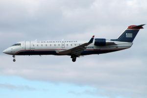 US Airways Express CRJ200 by tdogg115