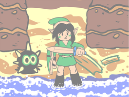 Dangerous To Go Alone by pocket-arsenal