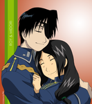 Roy and Midori by cookiemotel94