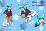 Winter New Style by QueenSolaris