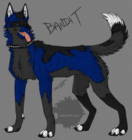 It's the Blue Bandit by Weird0Freak