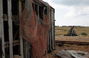 old net shed by awjay