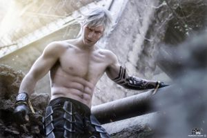 Eve - NieR Automata Cosplay by Leon Chiro PREVIEW by LeonChiroCosplayArt