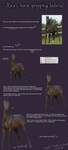 Horse prepping tutorial by Rocarella