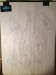 Gnomon LOL Figure Drawing Event by Eyecager