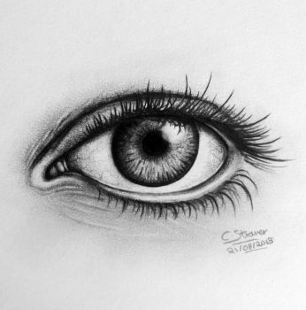 Realistic Eye Drawing by LethalChris