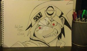 Soul Eater Evans~ by Xeyina