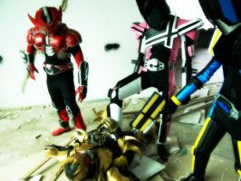 Just Give It Up, Kuuga.. by xlunaticxnoirx