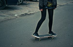 skateboard road by Laplum