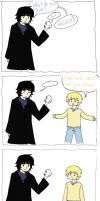 Johnlock fluff ermahgerd by Sakura-Wing