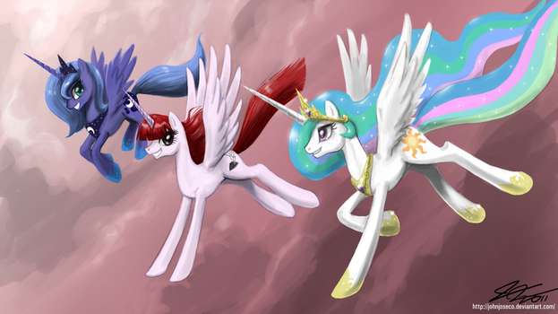Celestial Creatures by johnjoseco