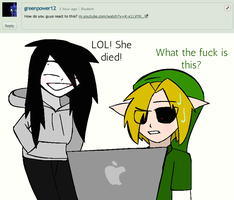 ASK JEFF THE KILLER AND BEN DROWNED: 2# by AskJeffandBendrowned