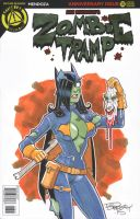 Zombie Tramp Sketch Cover 5 by BillMcKay