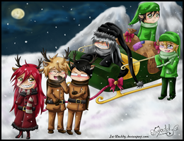 Merry Black Christmas by Isi-Daddy