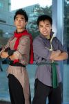 Fanime 2012: Mako and Bolin by anthenii-san