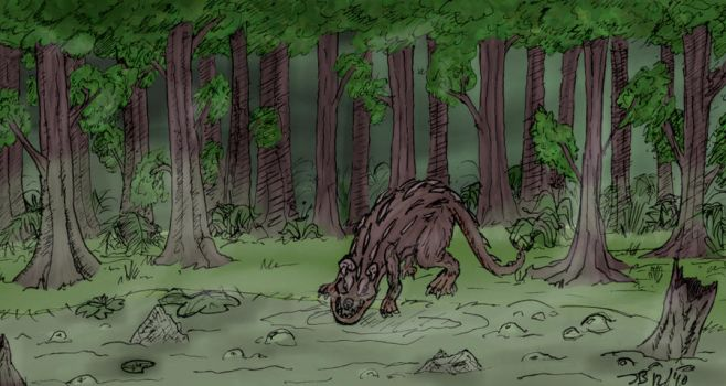 Swamp Creature by BananazGorilla
