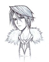 Dissidia : Squall Leonheart by arcbuncle