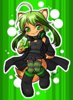 Chibi commission - Vel-chan by celesse