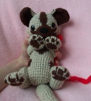 Puppy Wild Dog - crochet by HiccToothFan