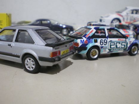 Ford escorts by evandrominiaturas