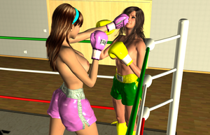Random KO: Vera vs Lilly 008 by chuy9502