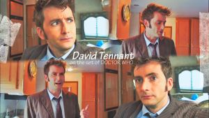 DOCTOR WHO by David Tennant by Anthony258