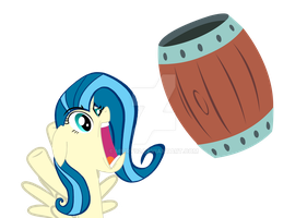 BARRELS!!! - Tina Fountain Heart by mirry92