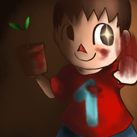 Enter The Villager by RainbowSamaa