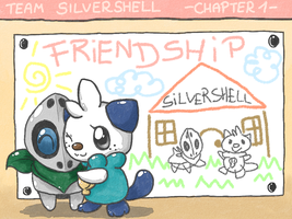 Team SilverShell - Chapter 1: Friendship - Cover by Hime--Nyan