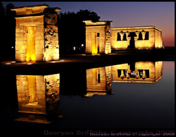 Debod temple by Daoryan