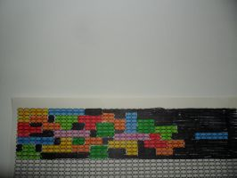 Tetris Bracelet pattern for potential commission by kayanah
