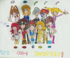We Are Hunters!! by digiphantom1994