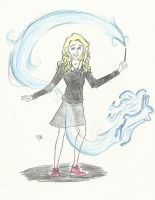 Luna Lovegood by LaLaLiv