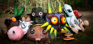 Majora's Mask Project - 8 Masks by Jestuhr