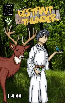 Distant Thunder #5 Cover by studio-kitsune