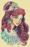 Femenagerie: Little Mermaid by DoodleLust