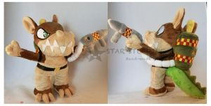 Dingodile Plush by StarMassacre