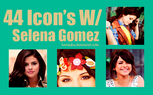 Selena Gomez 44 Icon's by kaniejka